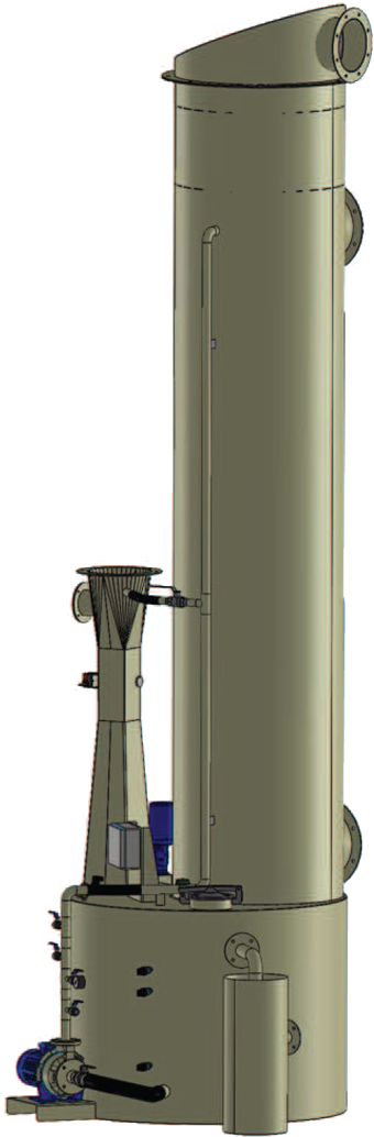 Scrubber Venturi serie SV
