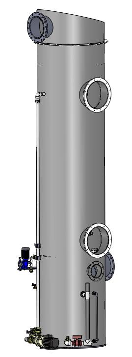 Scrubber torre serie ST
