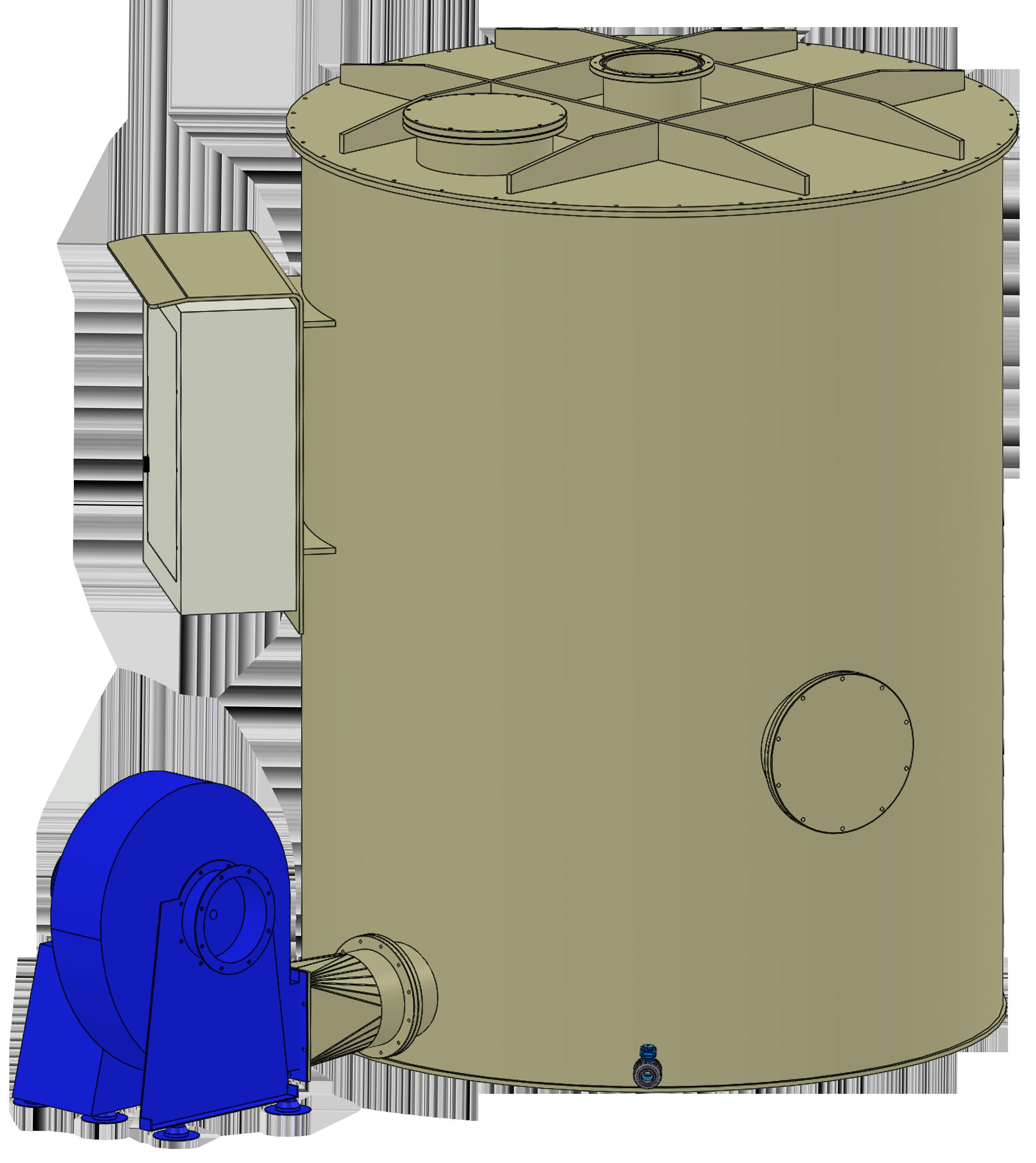 Filtro a carbone serie FCP