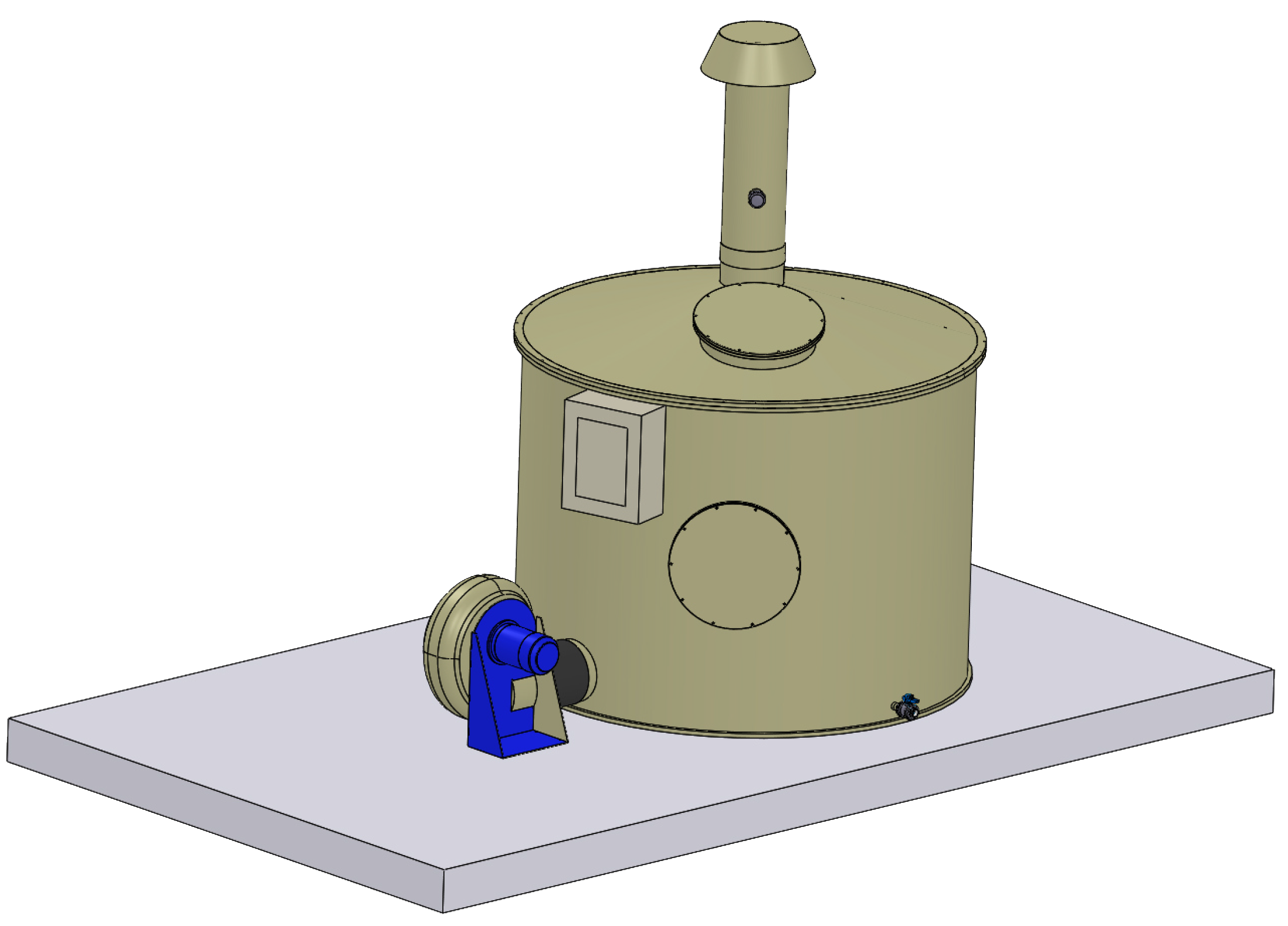 Biofiltri vasca serie BVc